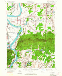Download a high-resolution, GPS-compatible USGS topo map for Mt Holyoke, MA (1964 edition)