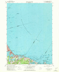 Download a high-resolution, GPS-compatible USGS topo map for Nantasket Beach, MA (1972 edition)