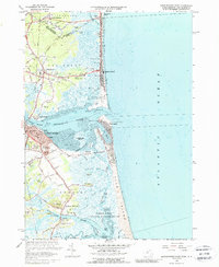 Download a high-resolution, GPS-compatible USGS topo map for Newburyport East, MA (1988 edition)