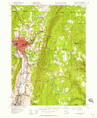 Download a high-resolution, GPS-compatible USGS topo map for North Adams, MA (1958 edition)