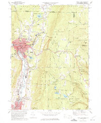 Download a high-resolution, GPS-compatible USGS topo map for North Adams, MA (1975 edition)