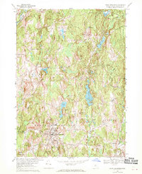 Download a high-resolution, GPS-compatible USGS topo map for North Brookfield, MA (1970 edition)