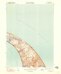 Download a high-resolution, GPS-compatible USGS topo map for North Truro, MA (1948 edition)