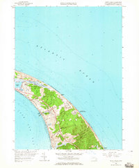 Download a high-resolution, GPS-compatible USGS topo map for North Truro, MA (1966 edition)