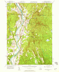 Download a high-resolution, GPS-compatible USGS topo map for Northfield, MA (1958 edition)