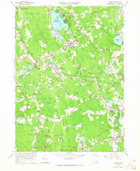 Download a high-resolution, GPS-compatible USGS topo map for Norton, MA (1965 edition)
