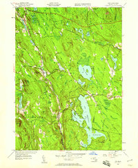 Download a high-resolution, GPS-compatible USGS topo map for Otis, MA (1958 edition)