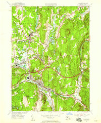Download a high-resolution, GPS-compatible USGS topo map for Palmer, MA (1958 edition)