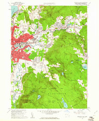 Download a high-resolution, GPS-compatible USGS topo map for Pittsfield East, MA (1961 edition)