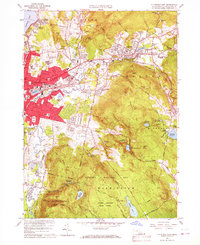 Download a high-resolution, GPS-compatible USGS topo map for Pittsfield East, MA (1967 edition)