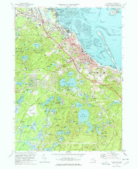Download a high-resolution, GPS-compatible USGS topo map for Plymouth, MA (1978 edition)