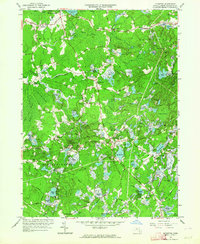 Download a high-resolution, GPS-compatible USGS topo map for Plympton, MA (1964 edition)