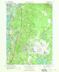 Download a high-resolution, GPS-compatible USGS topo map for Pocasset, MA (1970 edition)