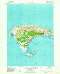 Download a high-resolution, GPS-compatible USGS topo map for Provincetown, MA (1963 edition)