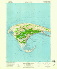 Download a high-resolution, GPS-compatible USGS topo map for Provincetown, MA (1960 edition)