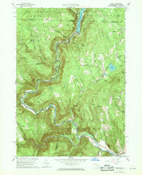 Download a high-resolution, GPS-compatible USGS topo map for Rowe, MA (1969 edition)