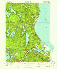 Download a high-resolution, GPS-compatible USGS topo map for Sagamore, MA (1958 edition)