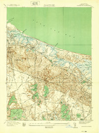 Download a high-resolution, GPS-compatible USGS topo map for Sandwich, MA (1939 edition)