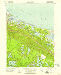 Download a high-resolution, GPS-compatible USGS topo map for Sandwich, MA (1958 edition)