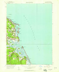 Download a high-resolution, GPS-compatible USGS topo map for Scituate, MA (1958 edition)