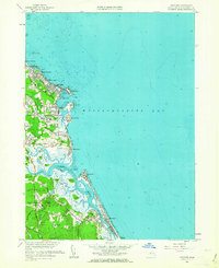 Download a high-resolution, GPS-compatible USGS topo map for Scituate, MA (1963 edition)