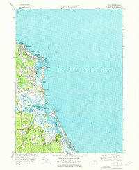 Download a high-resolution, GPS-compatible USGS topo map for Scituate, MA (1976 edition)