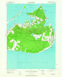 Download a high-resolution, GPS-compatible USGS topo map for Siasconset, MA (1963 edition)