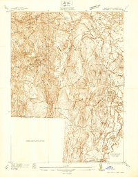 Download a high-resolution, GPS-compatible USGS topo map for Southwick, MA (1937 edition)