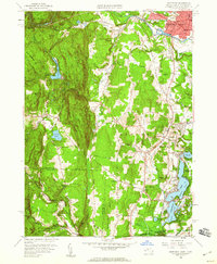 Download a high-resolution, GPS-compatible USGS topo map for Southwick, MA (1960 edition)