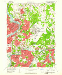 Download a high-resolution, GPS-compatible USGS topo map for Springfield North, MA (1961 edition)