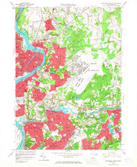 Download a high-resolution, GPS-compatible USGS topo map for Springfield North, MA (1967 edition)