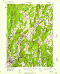 Download a high-resolution, GPS-compatible USGS topo map for Ware, MA (1957 edition)