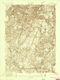Download a high-resolution, GPS-compatible USGS topo map for Wareham, MA (1935 edition)