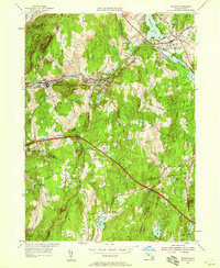 Download a high-resolution, GPS-compatible USGS topo map for Warren, MA (1958 edition)