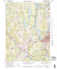 Download a high-resolution, GPS-compatible USGS topo map for Webster, MA (1979 edition)