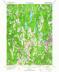 Download a high-resolution, GPS-compatible USGS topo map for Webster, MA (1966 edition)