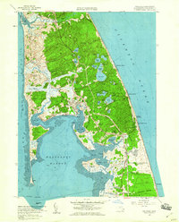Download a high-resolution, GPS-compatible USGS topo map for Wellfleet, MA (1960 edition)