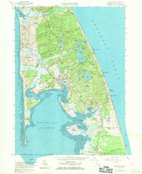 Download a high-resolution, GPS-compatible USGS topo map for Wellfleet, MA (1971 edition)