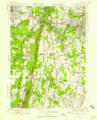 Download a high-resolution, GPS-compatible USGS topo map for West Springfield, MA (1958 edition)