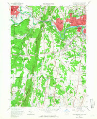 Download a high-resolution, GPS-compatible USGS topo map for West Springfield, MA (1966 edition)