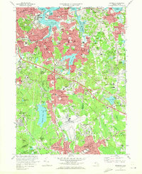 Download a high-resolution, GPS-compatible USGS topo map for Weymouth, MA (1973 edition)