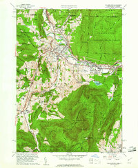 Download a high-resolution, GPS-compatible USGS topo map for Williamstown, MA (1961 edition)