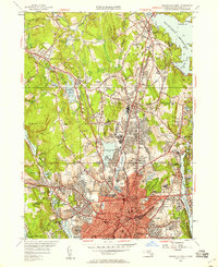 Download a high-resolution, GPS-compatible USGS topo map for Worcester North, MA (1958 edition)