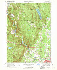 Download a high-resolution, GPS-compatible USGS topo map for Woronoco, MA (1970 edition)