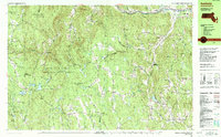 Download a high-resolution, GPS-compatible USGS topo map for Ashfield, MA (1990 edition)