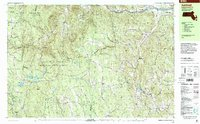 Download a high-resolution, GPS-compatible USGS topo map for Ashfield, MA (2000 edition)