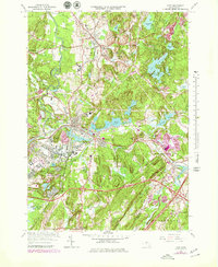 Download a high-resolution, GPS-compatible USGS topo map for Ayer, MA (1979 edition)