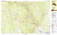 Download a high-resolution, GPS-compatible USGS topo map for Blandford, MA (1987 edition)