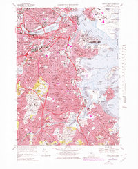 Download a high-resolution, GPS-compatible USGS topo map for Boston South, MA (1979 edition)