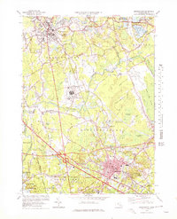 Download a high-resolution, GPS-compatible USGS topo map for Bridgewater, MA (1978 edition)